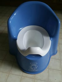 blue potty chair