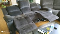 dark Brown sofa set,3-seat recliner sofa, 2-seat  Newcastle, 98056