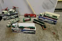 Assorted years of Hess trucks Abingdon, 21009