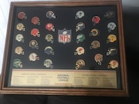 NFL mini team helmet collection. Early 80's helmets.  Hard to find. Great man cave item Yorba Linda, 92886