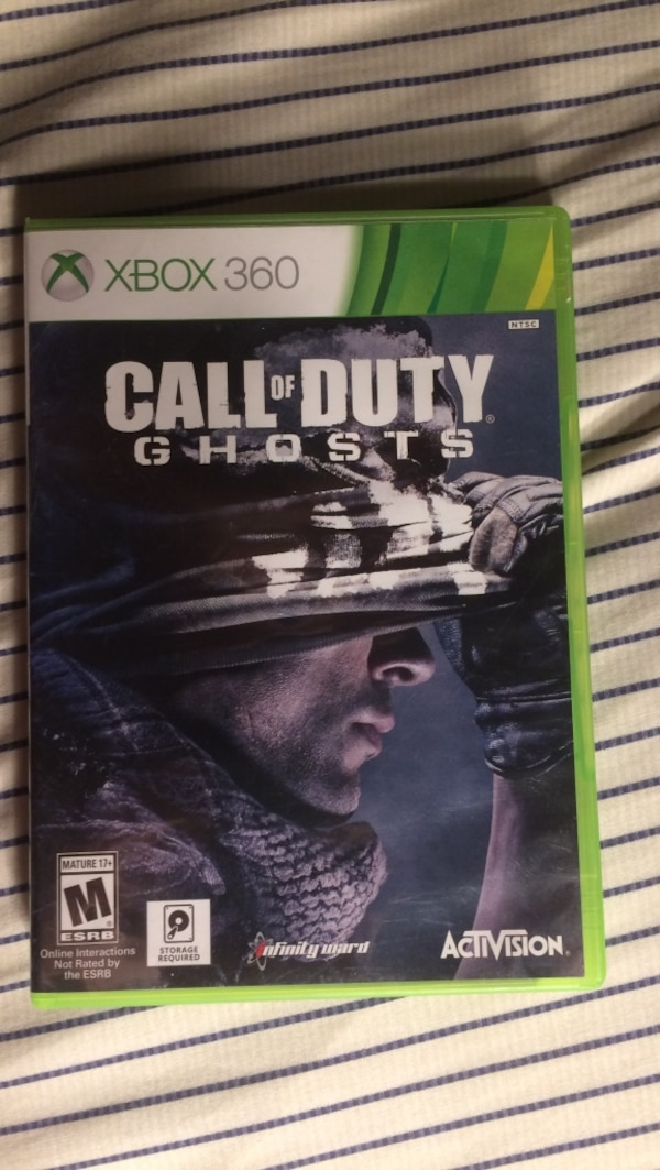 Xbox 360 call of duty ghosts game