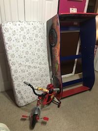 New Toddler Car Bed And Mattress and New Toddler Bike 43 km