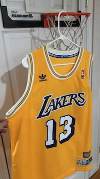 Lakers Wilt Chamberlain Big Dipper Large Adidas NBA
