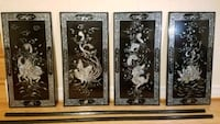 Set of 4 Panels - Mother of Pearl - Wall Art Springfield, 22150