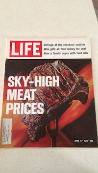 Life Sky high meat prices 554 km