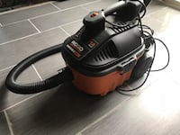 black and gray canister vacuum cleaner Broadlands, 20148