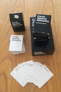 Cards Against Humanity - Base game + 3 expansions