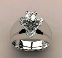 Brand new two piece 925 Silver rings. Del City, 73114
