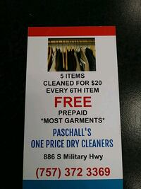 DRY CLEANING Virginia Beach