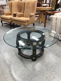 Glass Top Coffee Table  53 km