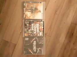Gta 4 , MW2 , black ops