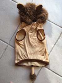 Dog costume, Lion size XL Palm Coast, 32137