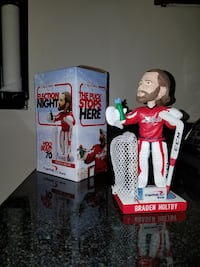 BRADEN HOLTBY Election Night Bobblehead