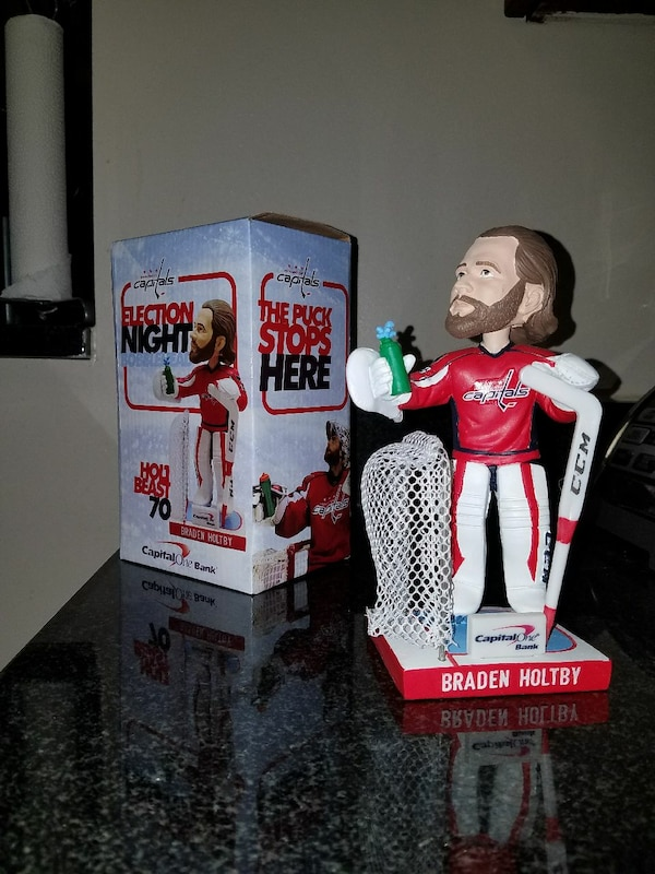BRADEN HOLTBY Election Night Bobblehead - Trumpedq 0