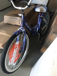 blue and white hardtail bike El Paso, 79925