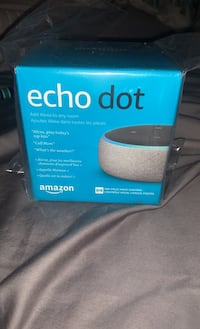 Brand new echo dot in sealed package Surrey, V3Z 9X6