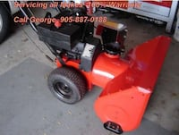 SnowBlower  Repair-Service at Your Home Markham