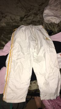 white and pink floral pants 3499 km