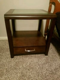 Wooden Side Tables w/ Drawers Bowie, 20720
