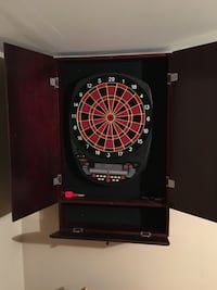 black and red dart board Graytown, 43432
