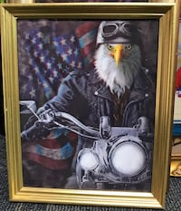 "3D Eagle picture frame (11.5""x16"")"