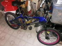 MONGOOSE blue and black BMX bike