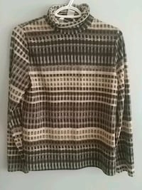 grey, beige, and black turtleneck sweater Pickering, L1X 2H7
