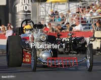 "8x10 Color Drag Racing Photo John Peters ""FREIGHT TRAIN"" AA/GD Pomona 2008 Smyrna"
