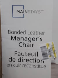 Brand New Bonded Leather Managers Chair Shakespeare