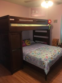 Bunk Bed with dresser