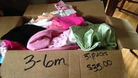 3-6m size baby girl clothing lot Norwich