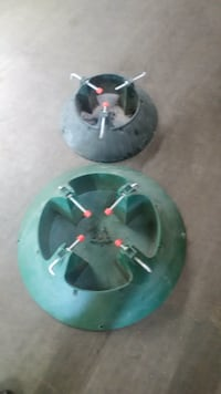 two green christmas tree stand Kelowna, V1W 3J9