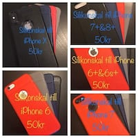 IPhone silicone bakside covers!!!!!! Uppsala, 755 95