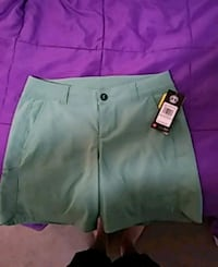 women's green shorts Kansas City, 64109