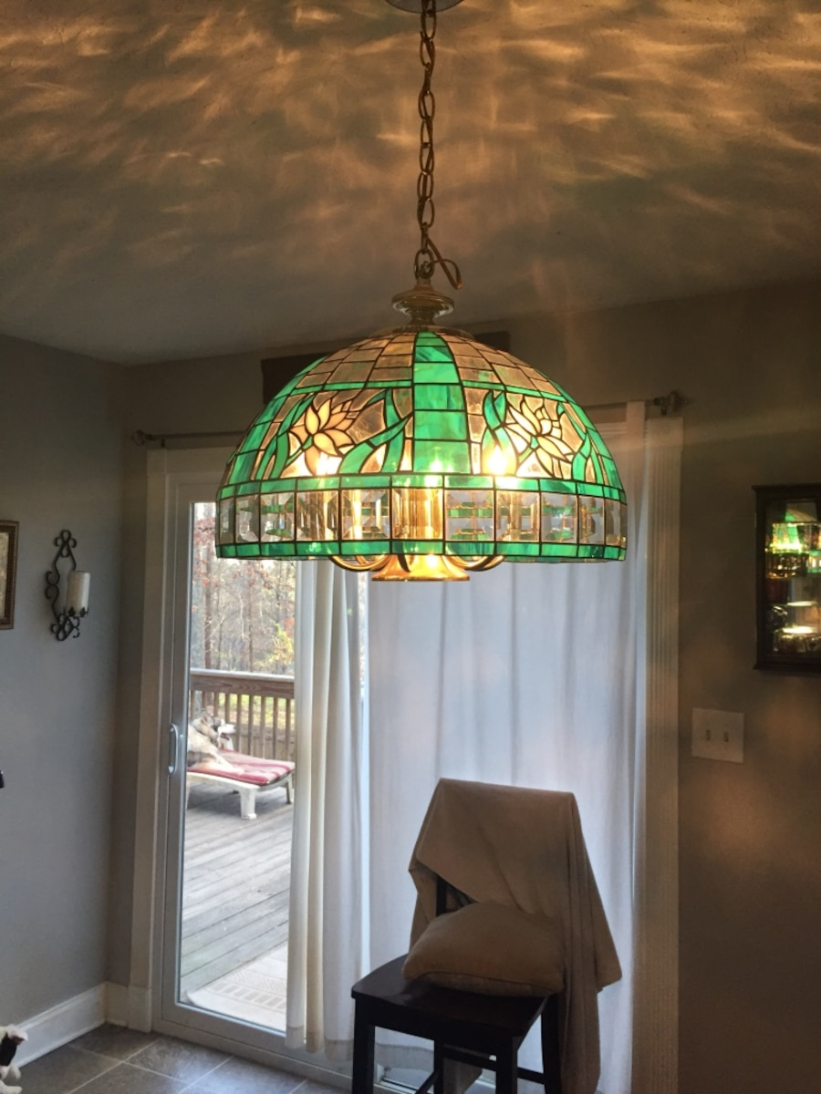 Letgo Green And Brown Stained Glas In Holly Springs GA