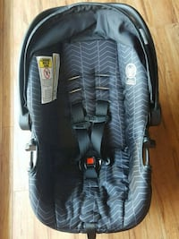 black and gray car seat carrier North Vancouver, V7L 1E7