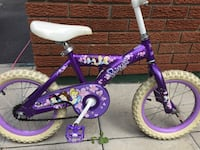 "Girls 14"" Disney Princess Bike"