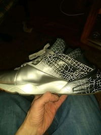 unpaired black and white Air Jordan basketball shoe Portland, 97213