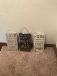 3 piece wall decor  New Orleans