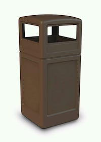 ***2 PIECE TAN COMMERCIAL TRASHCAN*** San Antonio, 78264