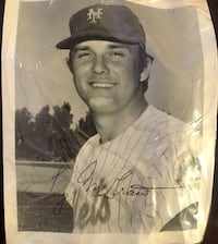 Tug McGraw Signed Picture Hasbrouck Heights, 07604