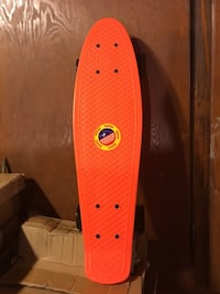 "Red / Black 27"" Penny Board - NEW"