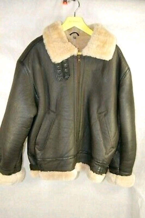 421c45704 Vintage USAF 80s Type G-8 Sheepskin Flight Jacket