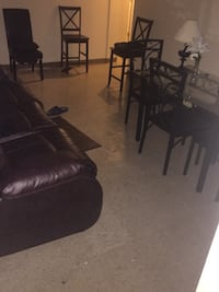 4 piece dining room table and couch  New York, 10460