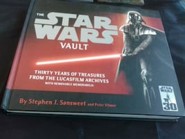 Star Wars vault collection book the history of it