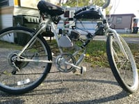 black and gray hardtail bike 43 km