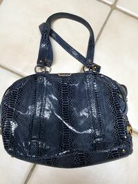 Black and blue snake skin leather purse Palm Harbor, 34684
