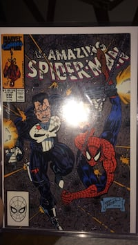 The amazing spider-man marvel comic book