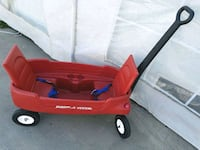 red and black Radio Flyer pull wagon Huntington Park, 90255