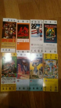 The BIG Football Game 28 replica Tickets
